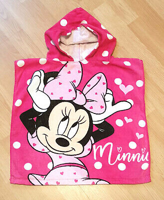 Minnie Mouse Handtuch Kapuze Poncho