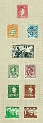 IRELAND Stamp Collection ERIE 1940s Mint REF:QT124a