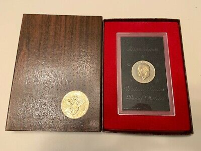US 1974 40% SILVER PROOF EISENHOWER DOLLAR - with OUTER BROWN BOX