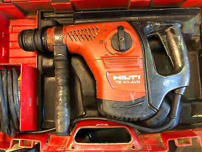 Hilti TE40-AVR SDS Max hammer drill, with chisel action, 110v