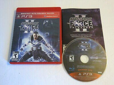 Star Wars The Force Unleashed Ii  100% Complete Sony Ps3 Playstation 3