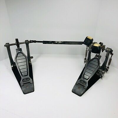 Vintage Pearl Double Bass Kick Pedals - tested and work (D)