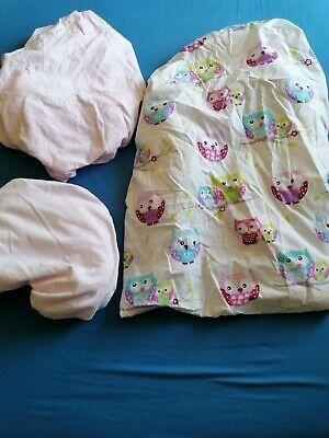Girls Cot Fitted Sheets