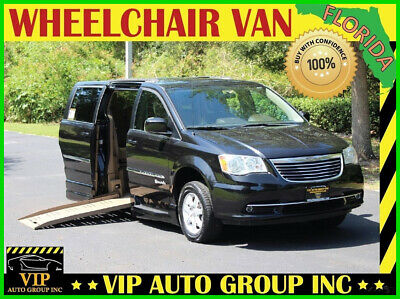 2011 Chrysler Town & Country Touring 2011 Chrysler Town and Country Touring Handicap Wheelchair Van BraunAbility Powe