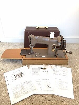 NEWLY SERVICED Singer 185k Heavy Duty Sewing Machine sew Leather Canvas Denim