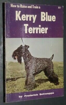 Vintage How to Raise and Train a Kerry Blue Terrier by Schweppe Champion Photos