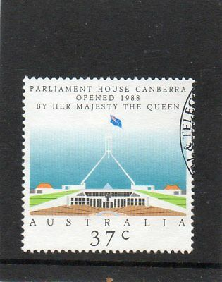 Sg 1144 Australia New Parliament House Canberra Very Fine Used Stamp