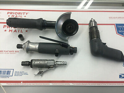 Ingersoll Rand Pneumatic Tools (4) See Photos.