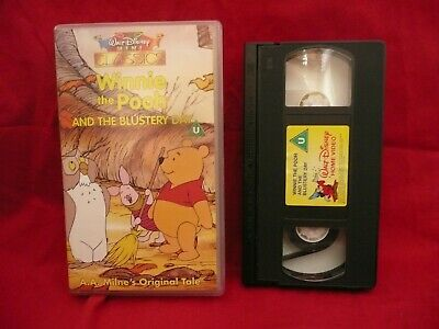 Walt Disney's Mini Classic Winnie The Pooh and The Blustery Day VHS