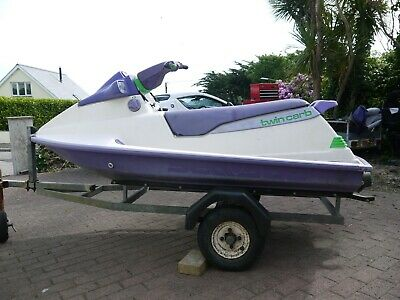 Seadoo Bombadier XP Twin Carb and trailer Motorbike, cycle trailer ?