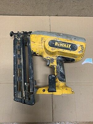 DEWALT DC618,Nailer/Brad Gun, Cordless, 18v No Batterys, Or Charger