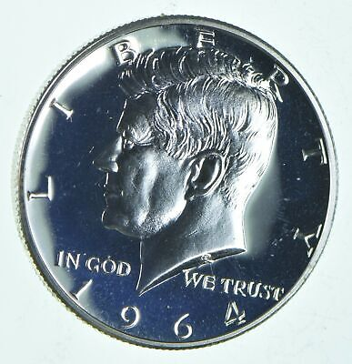 ERROR 1964 TRANSITIONAL REV PROOF Kennedy Half Dollar 90% Silver Tough Coin *146