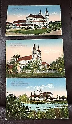 Pozdrav ze Sastina Maria Schlossberg 1923 Post Cards Color RARE