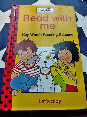 Ladybird Read With Me Key Words Reading Scheme Let's Play Book 1