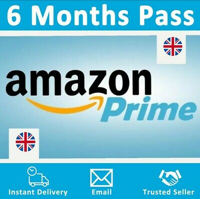 Cheapest Amazon Prime 6 Months Pass 🔥 Prime Delivery, Video & Music 👑 UK Only