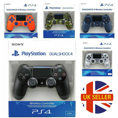 Official Sony Ps4 Dualshock 4 Wireless Controller V2  - Uk