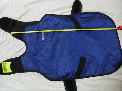 """wolf x ray apron x-ray 68098 20""""x40"""" quick drop style used -open package"""