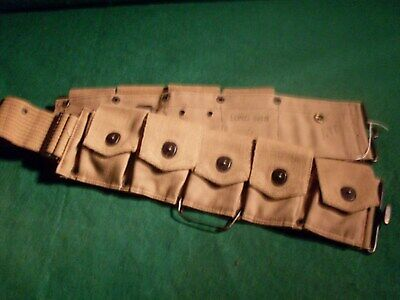 U.S. WW1 9 pocket cartridge belt