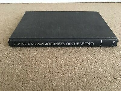 Used Vintage 1982 Great Railroad Journeys Of The World By E. P. Dutton