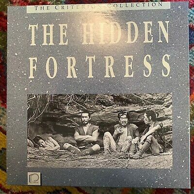 "The Hidden Fortress - Criterion Collection 12"" Laserdisc Boxset"