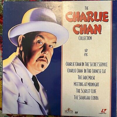 "The Charlie Chan Collection -  12"" Laserdisc Boxset ML104785"
