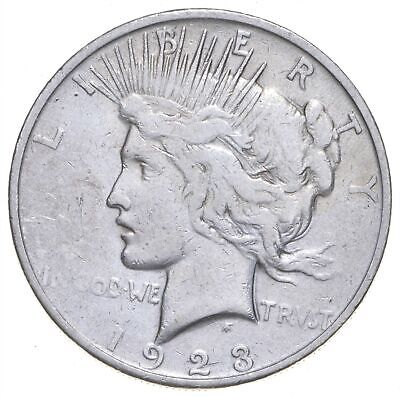 Early - 1923-S - Peace Silver Dollar - 90% US Coin *433