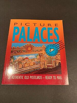 Picture Palaces 24 Authentic Old Postcards - Ready for Mail by Naylor (pb 1988)