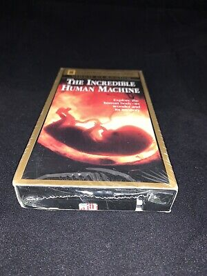 National Geographic Video: The Incredible Human Machine (VHS) NEW/SEALED Free Sh