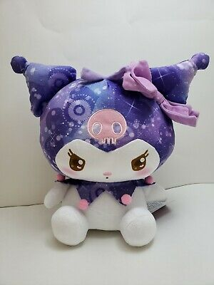 """Sanrio My Melody Kuromi Plush Glitter 12"""" Collectible Brand New from Japan"""