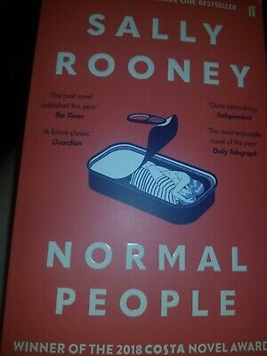 Normal People By Sally Rooney 9780571334650 Paperback like NEW