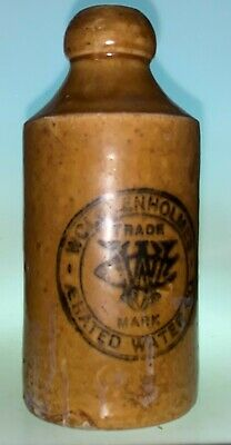 I/T Ginger Beer - Wolstenholme's Aerated Water Co - 16.5Cm