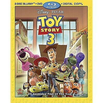 Toy Story 3 (Blu-ray + DVD + Digital Copy) (Bilingual)