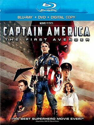 Captain America: The First Avenger  [Blu-ray + DVD] (Bilingual)