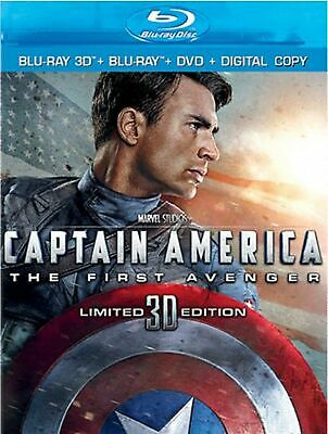 Captain America: The First Avenger (Limited 3D Edition) [Blu-ray 3D + Blu-ray...
