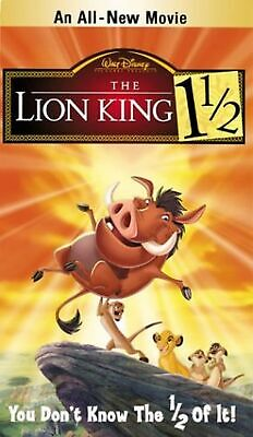 Lion King 1 1/2, the [Import]