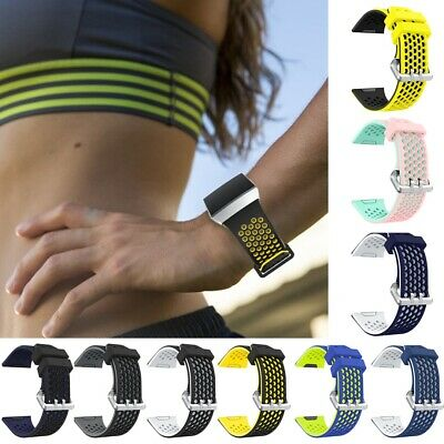 For Fitbit Ionic Fashion Silicone Fitness Strap Sports Replacement Wrist Band UK