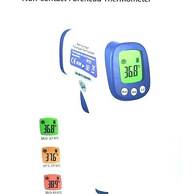 Forehead Thermometer Digital Termometro For Non-Contact Fever Body & Object NEW