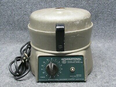 IEC International Equipment Company Micro-Capillary Centrifuge Model MB *Tested*