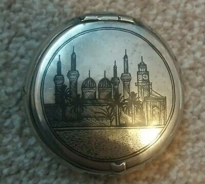 Antique Russian Tobbaco Box Provensial Silver