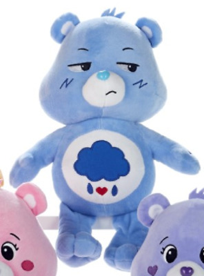 "New Official 12"" Care Bear Grumpy Bear Soft Plush Toy"