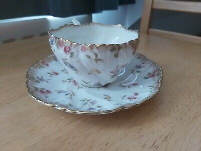 Vintage Pointons Floral Tea Cup and Saucer