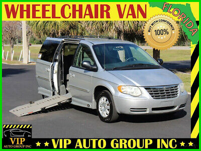 2006 Chrysler Town & Country Touring 2006 Chrysler Town & Country Touring Handicap Wheelchair Van Power Side Mobility
