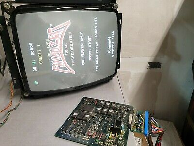 Jamma PCB Finalizer Super Transformation, Konami , Working no crime fighter