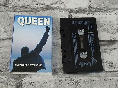 QUEEN - Heaven For Everyone (UK) Carded Single  / Cassette Tape /1712
