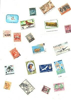 Big Lot Of Stamps From British Commonwealth Off Paper ( 3000 )