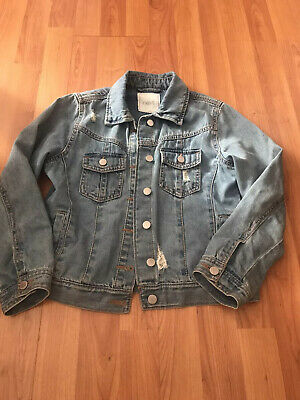 Next Girls Denim Jacket. Age 10 Years.