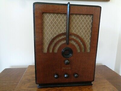 Philco model 66B AM/SW Tombstone Radio...serviced and working