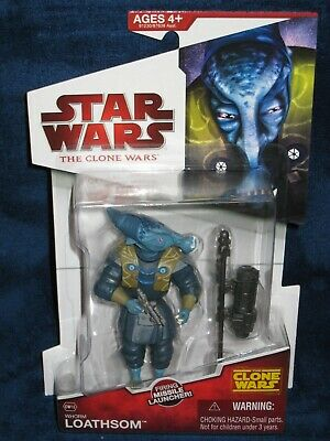 Star Wars 2009 The Clone Wars Whorm Loathsom CW15