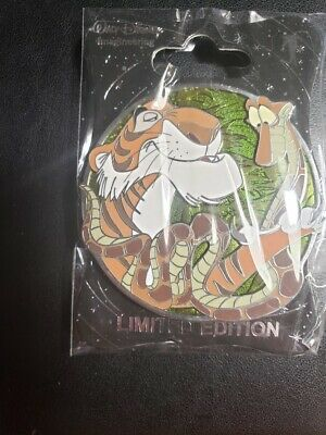Disney Pin WDI Villains Profile Series Jungle Book Shere Khan & Kaa Snake LE 250