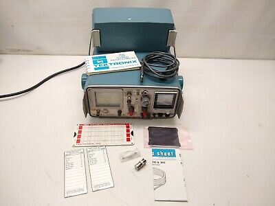 Tektronix 1503 TDR Cable Tester w/ Front Cover, Accessories